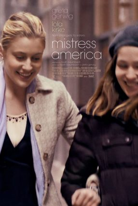 Cartaz do filme MISTRESS AMERICA