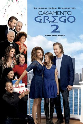 Cartaz do filme CASAMENTO GREGO 2 – My Big Greek Fat Weeding 2