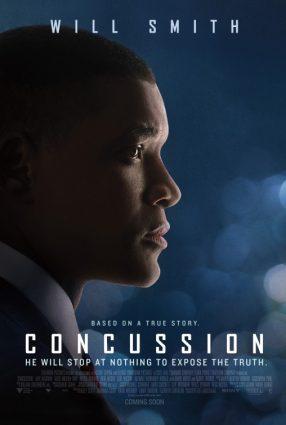 Cartaz do filme UM HOMEM ENTRE GIGANTES – Concussion