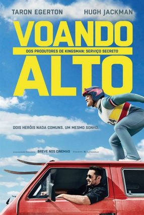 Cartaz do filme VOANDO ALTO – Eddie The Eagle