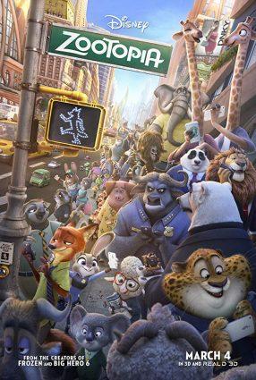 Cartaz do filme ZOOTOPIA – ESSA CIDADE É O BICHO – Zootopia