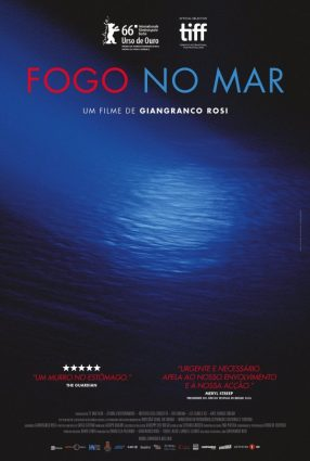 Cartaz do filme FOGO NO MAR – FUOCCOAMMARE