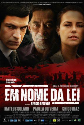 Cartaz do filme EM NOME DA LEI