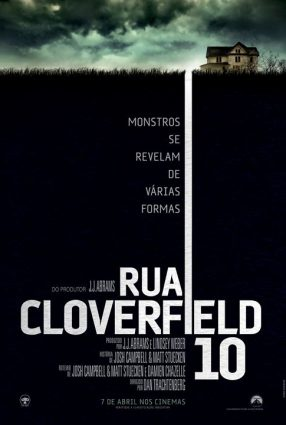 Cartaz do filme RUA CLOVERFIELD, 10 – 10 Cloverfield Lane