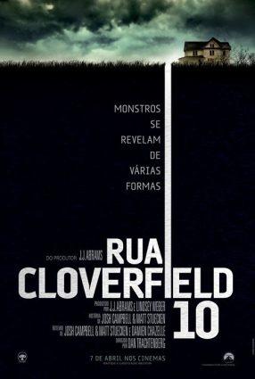 Cartaz do filme RUA CLOVERFIELD, 10 – 10 Cloverfield Lane