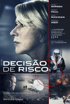 Cartaz do filme DECISÃO DE RISCO – Eye in the Sky