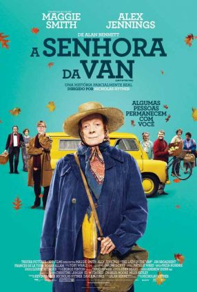 Cartaz do filme A SENHORA DA VAN – The Lady in the Van