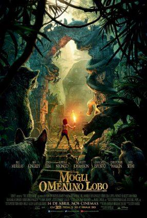 Cartaz do filme MOGLI: O MENINO LOGO – The Jungle Book