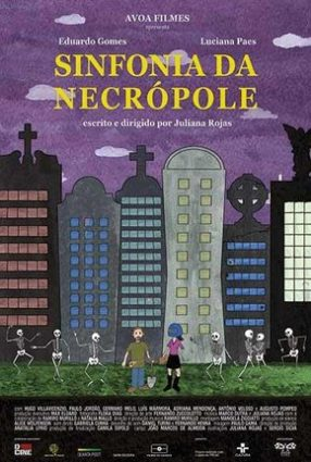 Cartaz do filme SINFONIA DA NECRÓPOLE