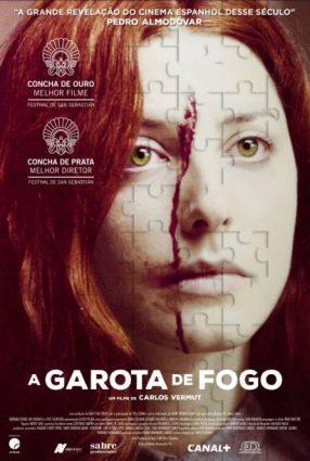 Cartaz do filme A GAROTA DE FOGO   Magical Girl