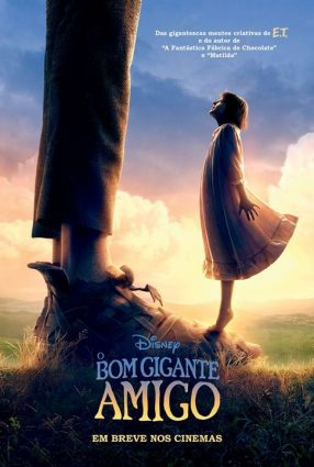 Cartaz do filme O BOM GIGANTE AMIGO – The BFG