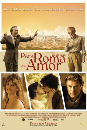 Cartaz do filme PARA ROMA COM AMOR – To Rome With Love