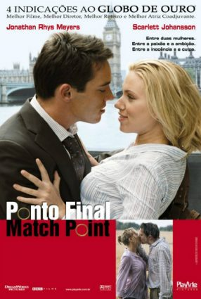 Cartaz do filme PONTO FINAL – Match Point