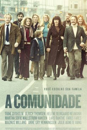 Cartaz do filme A COMUNIDADE – Kollektivet (The Commune)