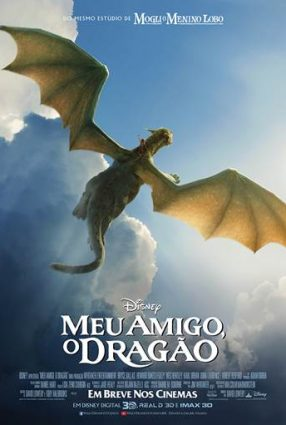 Cartaz do filme MEU AMIGO, O DRAGÃO – Pete's Dragon