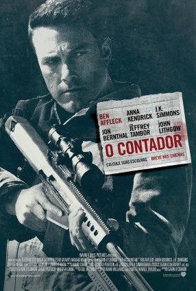 Cartaz do filme O CONTADOR – The Accountant
