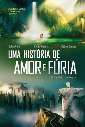 Cartaz do filme UMA HISTÓRIA DE AMOR E FÚRIA – entrevista com o diretor Luiz Bolognesi