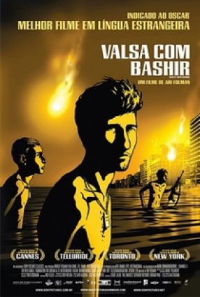 Cartaz do filme VALSA COM BASHIR – Waltz with Bashir