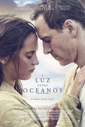 Cartaz do filme A LUZ ENTRE OCEANOS – The Light Between Oceans
