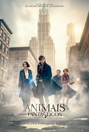Cartaz do filme ANIMAIS FANTÁSTICOS E ONDE HABITAM – Fantastic Beasts and Where to Find Them