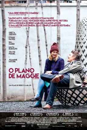 Cartaz do filme O PLANO DE MAGGIE – Maggie's Plan