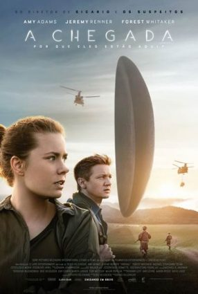 Cartaz do filme A CHEGADA – Arrival
