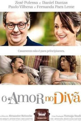 Cartaz do filme O AMOR NO DIVÃ