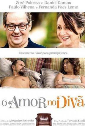 Cartaz do filme O AMOR NO DIVÃ