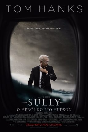 Cartaz do filme SULLY – O HERÓI DO RIO HUDSON