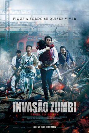 Cartaz do filme INVASÃO ZUMBI – Busanhaeng