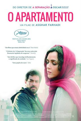 Cartaz do filme O APARTAMENTO – The Salesman