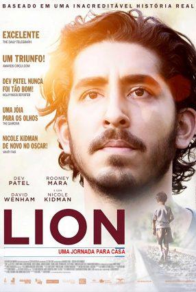 Cartaz do filme LION – UMA JORNADA PARA CASA – Lion