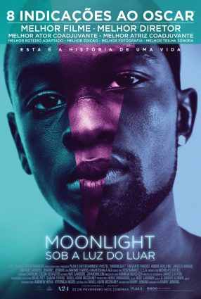 Cartaz do filme MOONLIGHT – SOB A LUZ DO LUAR – Moonlight