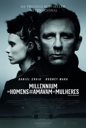 Cartaz do filme MILLENNIUM – OS HOMENS QUE NÃO AMAVAM AS MULHERES – The Girl with the Dragon Tattoo