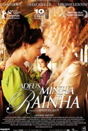 Cartaz do filme ADEUS, MINHA RAINHA – Les Adieux à la Reine