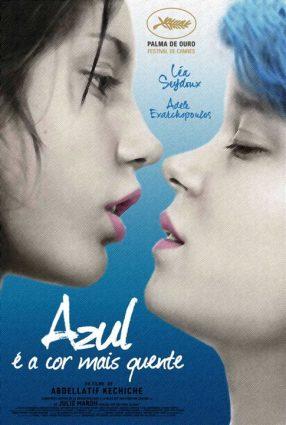 Cartaz do filme AZUL É A COR MAIS QUENTE – La Vie d'Adèle
