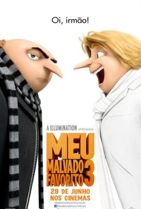 Cartaz do filme MEU MALVADO FAVORITO 3 – DESPICABLE ME 3