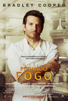 Cartaz do filme PEGANDO FOGO – Burnt