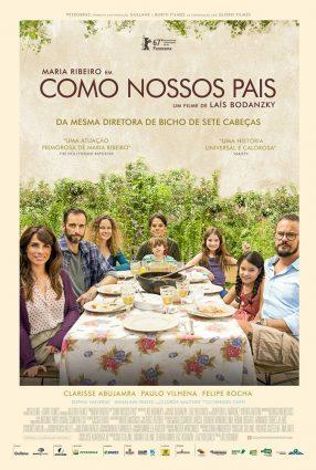 Cartaz do filme COMO NOSSOS PAIS