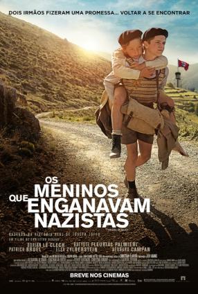Cartaz do filme OS MENINOS QUE ENGANAVAM NAZISTAS | un sac des billes
