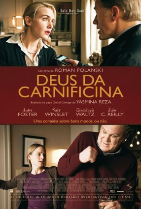 Cartaz do filme DEUS DA CARNIFICINA – Carnage