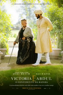 Cartaz do filme VICTORIA E ABDUL: O CONFIDENTE DA RAINHA