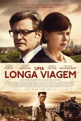 Cartaz do filme UMA LONGA VIAGEM – The Railway Man