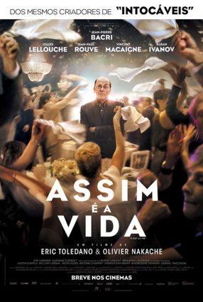 Cartaz do filme ASSIM É A VIDA – C'est la vie! Le sens de la fête