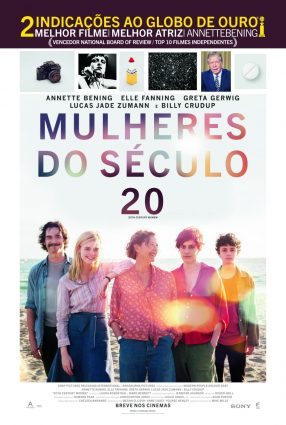 Cartaz do filme MULHERES DO SÉCULO 20 – 20th Century Women
