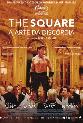 Cartaz do filme THE SQUARE – A ARTE DA DISCÓRDIA – The Square