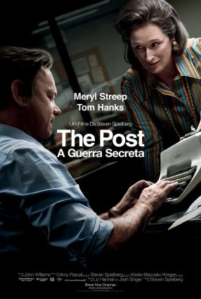 Cartaz do filme THE POST – A GUERRA SECRETA – The Post
