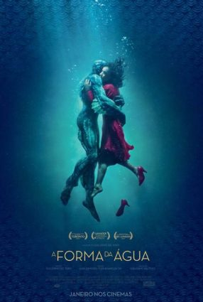 Cartaz do filme A FORMA DA ÁGUA – The Shape of Water