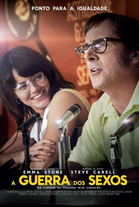 Cartaz do filme A GUERRA DOS SEXOS – Battle of the Sexes