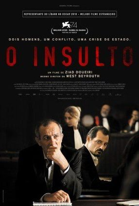 Cartaz do filme O INSULTO – The insult